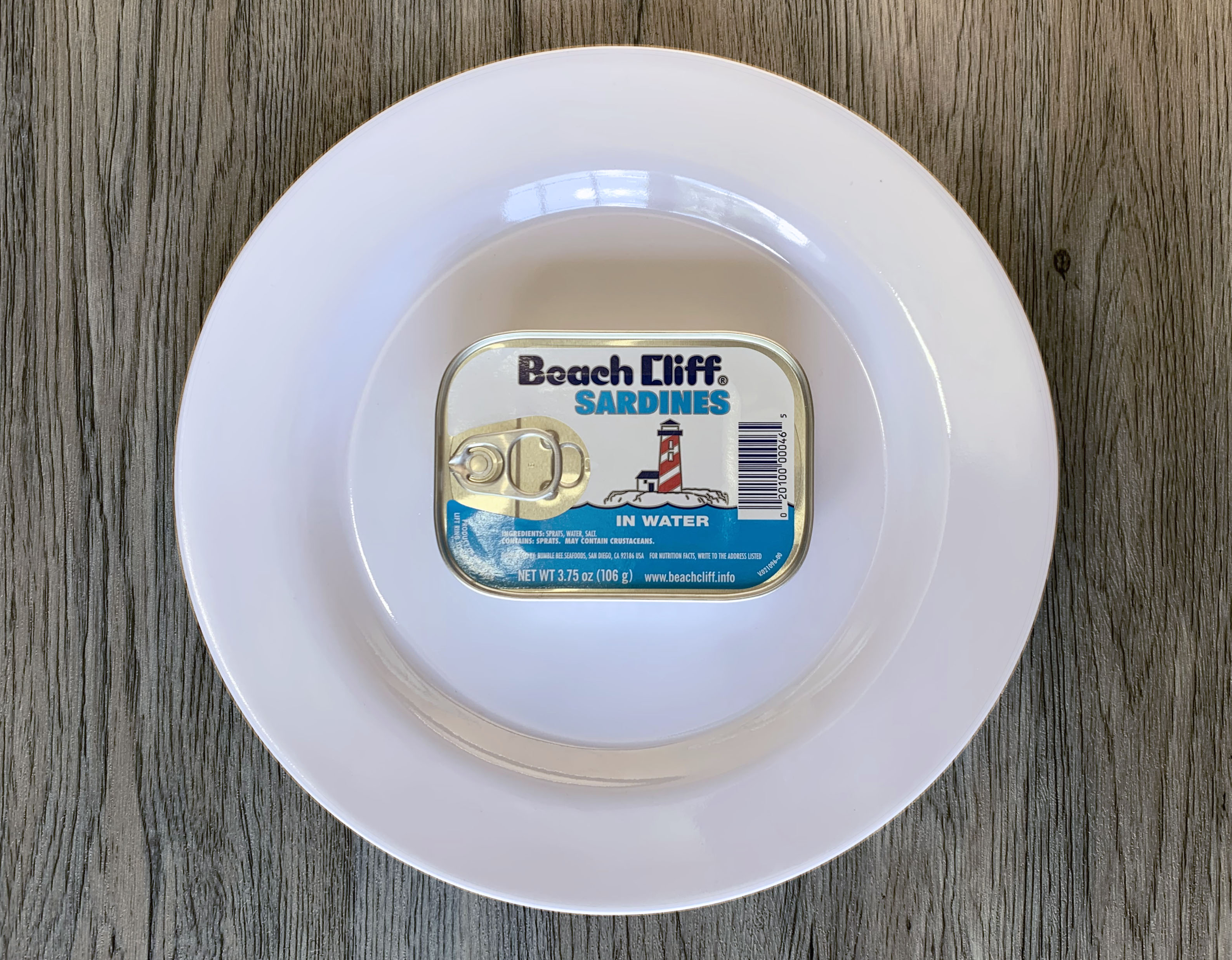 Read Beach Cliff Sardines in Water Review